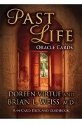 Past Life Oracle Cards: A 44-Card Deck and Guidebook Cards